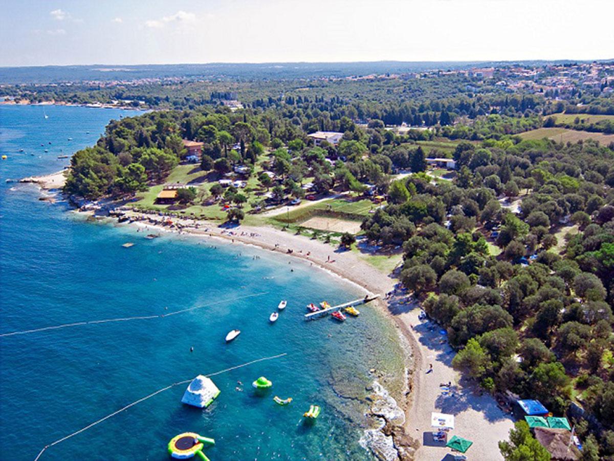 Hrvatska, Pula, Mobilne kućice Kamp Brioni