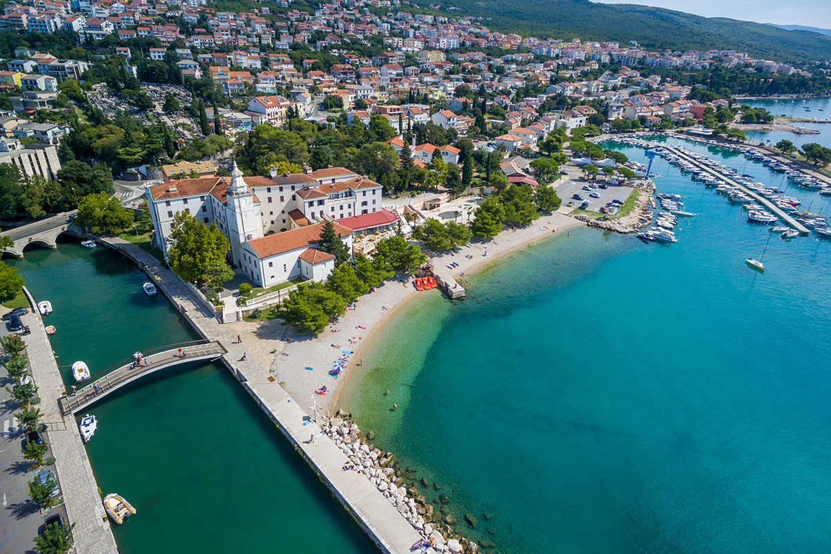 Hrvatska, Crikvenica, Hotel Kaštel