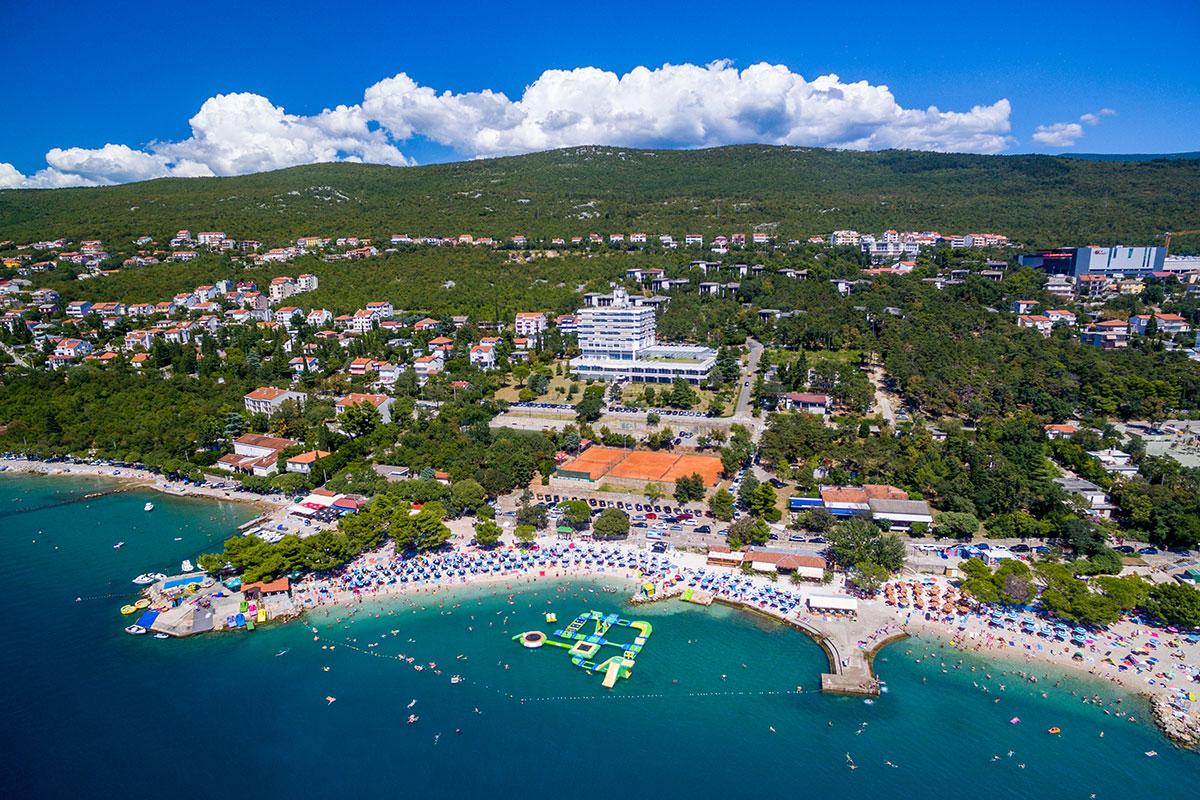 Hrvatska, Crikvenica, Hotel i depandansa Omorika