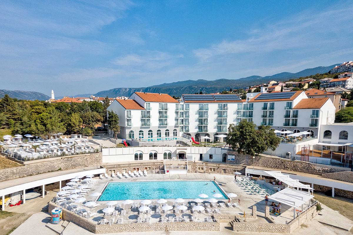 Hrvatska, Novi Vinodolski, Family Hotel Lišanj & Depandansa Lišanj
