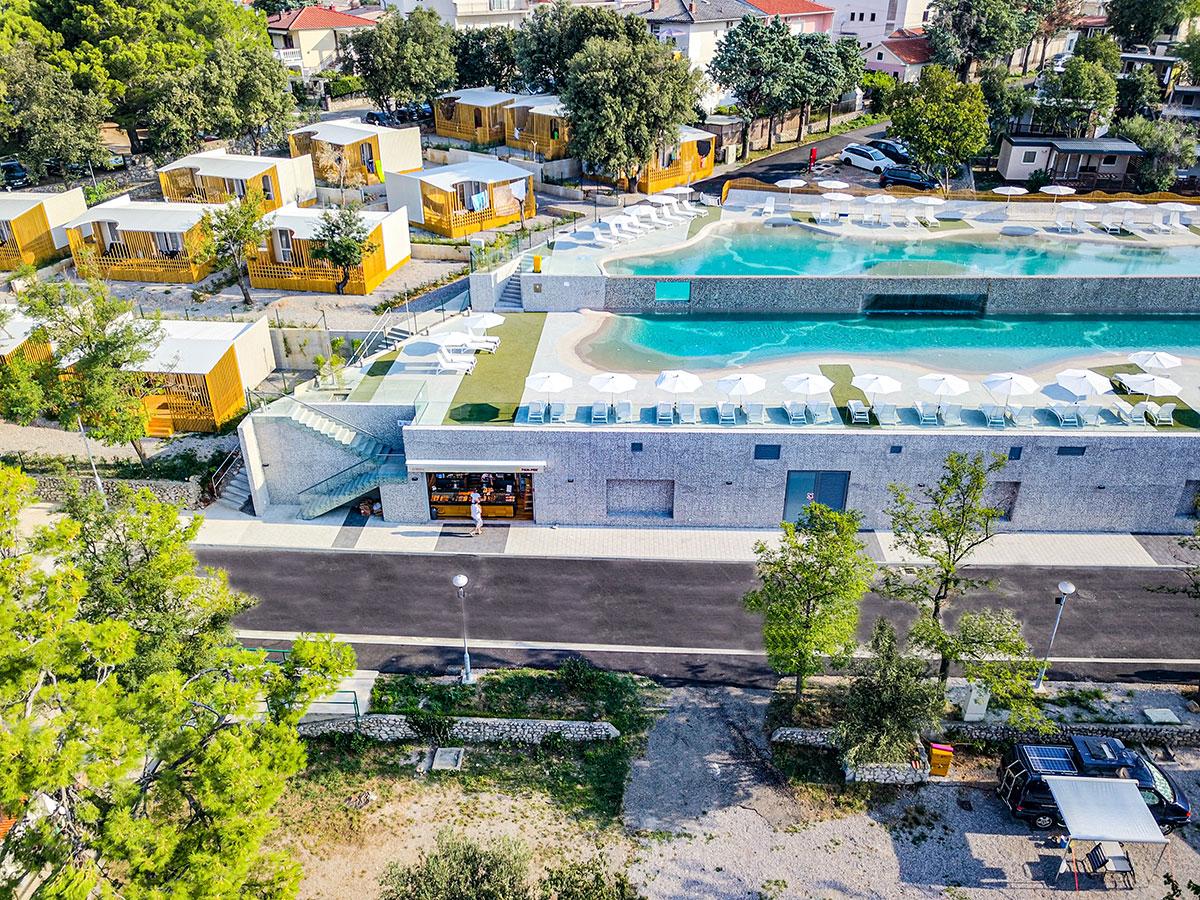 Hrvatska, Selce, Mobilne kućice Salumbra 3*