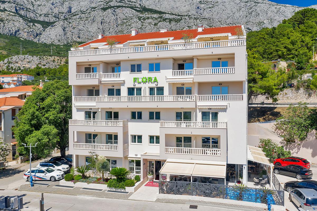 Hrvatska, Tučepi, Aparthotel Flora