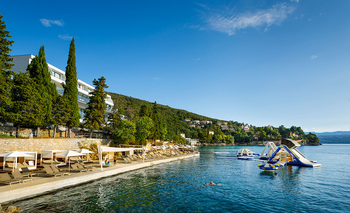 Hrvatska, Ičići, Hotel Ičići